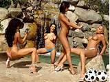 Brazil women soccer team naked