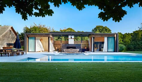 house plans with pool luxurious indoor and outdoor oasis pool house by icrave