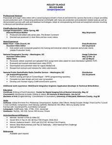 professional video editor resume template With video editor resume template download