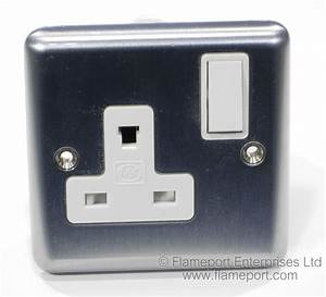 Mk Non Standard 13a Plug And Socket