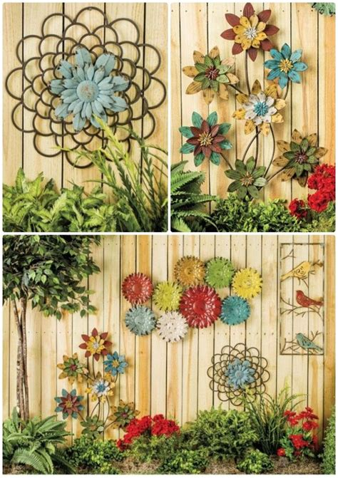 Garden Decoration Fence by Booming Metal Flower Garden Fence Decor 20 Fence