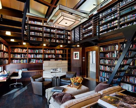 Library Designs : Homes Of The Rich
