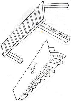 marimba tipica hecha con carto reciclado faroles reciclados olga ledezma ch