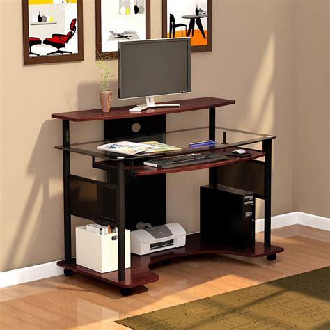 z line computer desk z line cyrus computer cart zl2200 01wsu