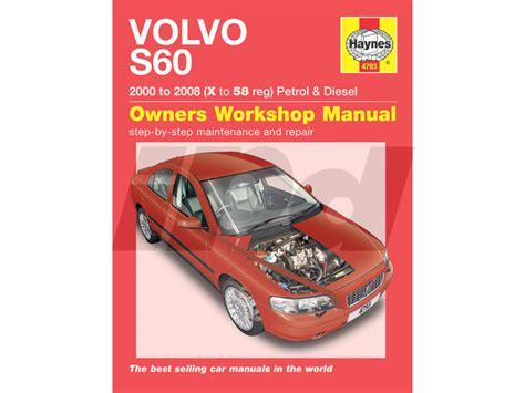 auto repair manual free download 2008 volvo s60 electronic valve timing volvo haynes shop manual uk edition 114598