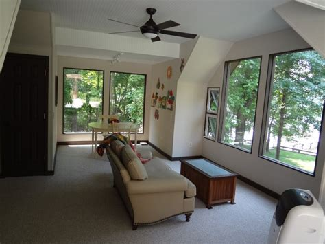 convert screened in porch to 4 season room eclectic