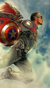 Falcon, Superhero, Wallpaper, Id, 5702