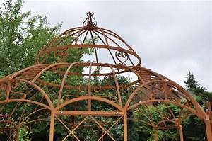 Pavillon Aus Metall : pavillon romantik rost 340cm ~ Michelbontemps.com Haus und Dekorationen
