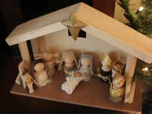 inspirations wooden doll nativity