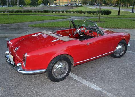 No Reserve: 1962 Alfa Romeo Giulietta Spider