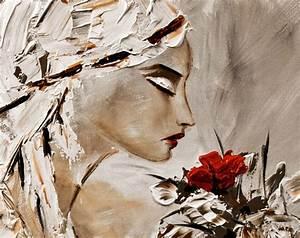 Image Gallery modern paintings of women