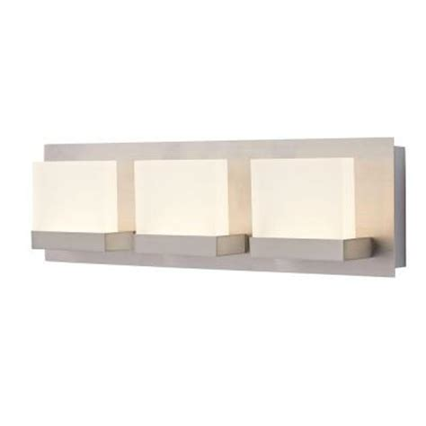 led bathroom vanity lights home depot home decorators collection alberson collection 3 light