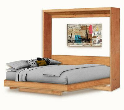 horizontal queen wall bed murphy bed  table