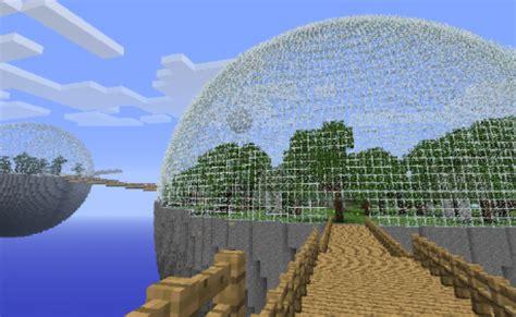 glass dome  minecraft  steps