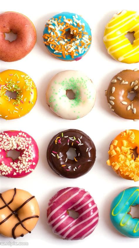 Take your phone style to the next level with gorgeous phone wallpapers from unsplash. Doughnuts | iPhone wallpapers in 2019 | Food wallpaper, Food, Donut glaze
