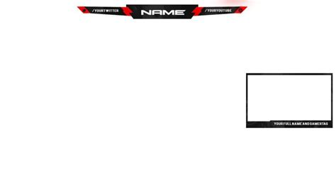 free overlay template twitch overlay template empty for d overlays and templates