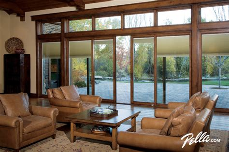 pella designer series sliding patio door  design flexibility contemporary living