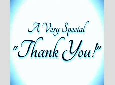 A Very Special Thanks To You Free Thank You eCards