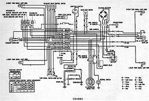 Honda Cb100k3 Electrical Wiring Diagram  59405