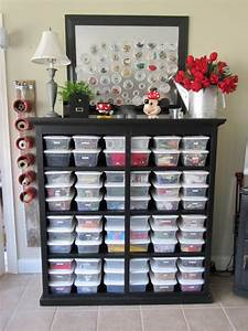 Super Organized Craft Room Pictures, Photos, and Images