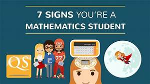 7 Signs You're a Mathematics Student - YouTube