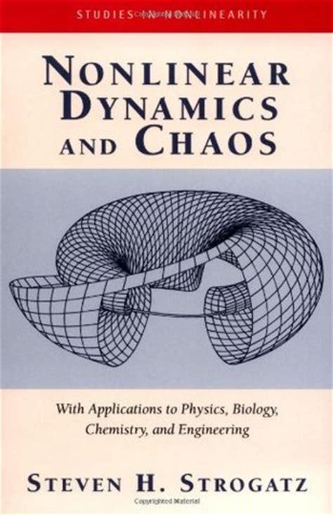 nonlinear dynamics  chaos  applications  physics