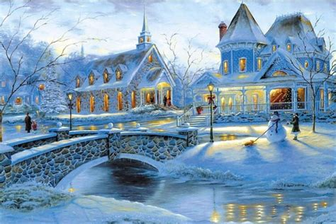 snow scenery wood puzzles  pieces adult puzzles wooden