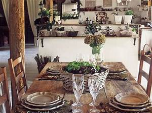 french country furniture for stunning dining room With rustic country dining room ideas