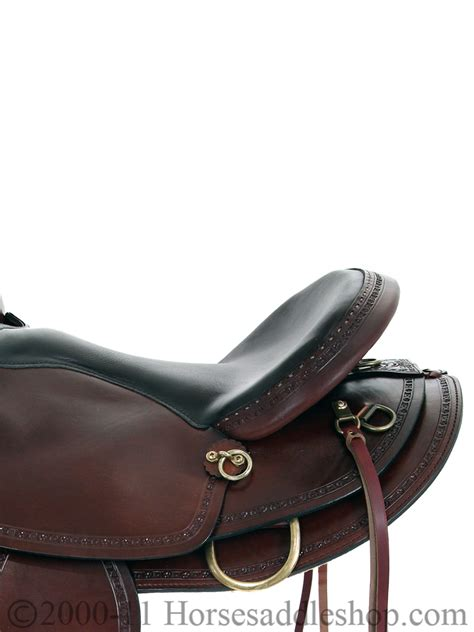 saddle saddlery trail hill american country horn texas ii western hr