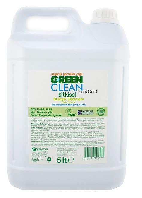 U Green Clean Bitkisel Bulaşık Deterjanı 5 Lt - Marketpaketi