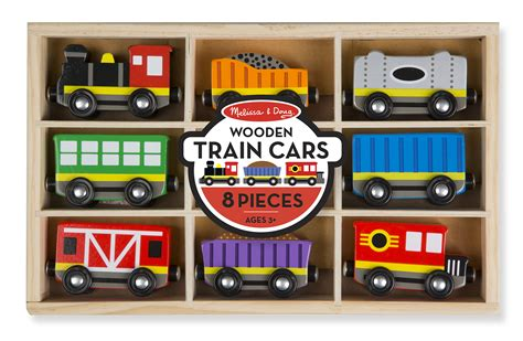 melissa and doug train table instructions melissa doug wooden train cars