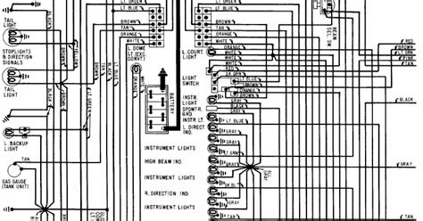 1968 Corvette Heater Wiring Diagram 1968 chevrolet corvette wiring diagram all about wiring