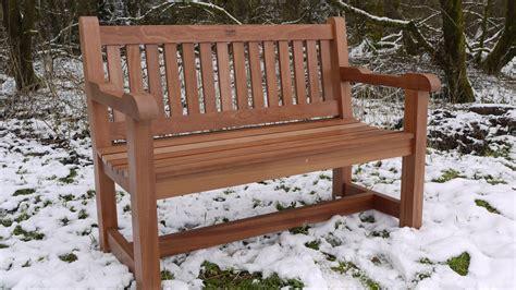 bureau belfast hardwood garden bench sapele the wooden workshop