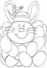 Easter Coloring Colouring Rugs Poppy sketch template