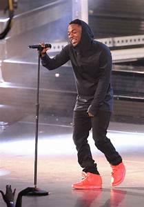 Kendrick Lamar Wears u0026#39;Red Octoberu0026#39; Nike Air Yeezy 2 | Sole Collector