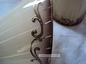 Alte Lampenschirme Aus Glas Historische Kleinteile Alte