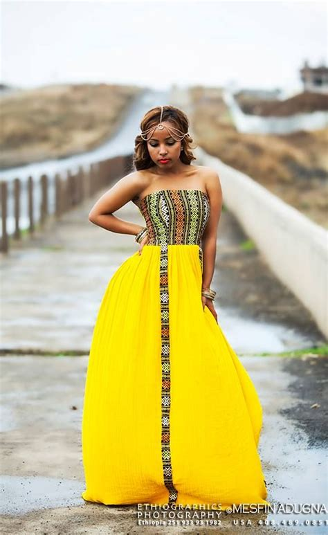 yellow dresses for yellow habesha kemis melse africans