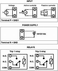 Ma And Current Limit Alarm  Trip Amplifier Dat5024e