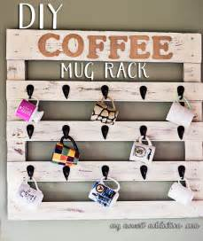 themed wall hooks diy coffee mug rack my newest addiction