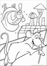 Remy Coloring Ratatouille Pages Happy Coloringpages101 sketch template