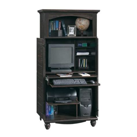 sauder computer armoire top 10 best desks for small spaces 2018 heavy