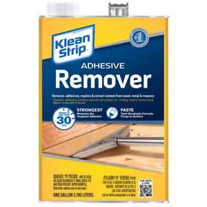 flooring adhesive remover klean strip adhesive remover