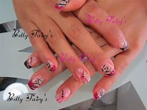 Modele Ongle Gel : ongles en gel rose fushia ~ Louise-bijoux.com Idées de Décoration