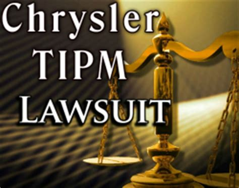 judge  chrysler tipm class action lawsuit  move