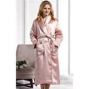 robe de chambre luxe femme soie matelassee achat vente With robe de chambre femme luxe