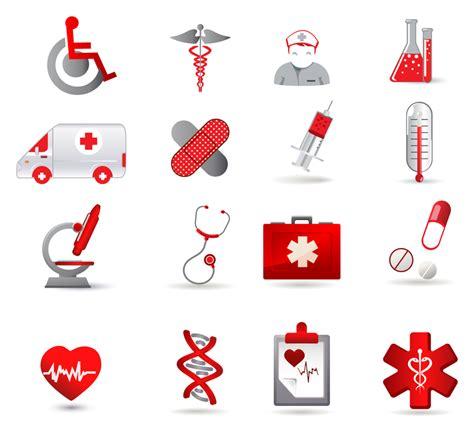 Healthcare Clipart Health Care Icon Set Free Vector