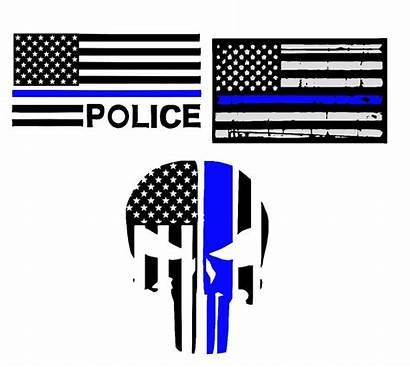 Svg Police Thin Line Matter Support Lives