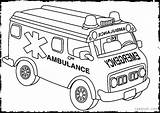 Ambulance Coloring Pages Vehicles Rescue Printable Building Truck Emergency Transportation Sheets Printables Template Clipart Jeep Dellosa Carson Getcolorings Draw Cars sketch template
