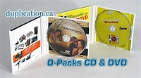 QPACK 4 panel - Specialty Items - Printing Services - duplication.ca (Analogue Media Technologies Inc.)