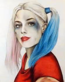 Draw Harley Quinn Suicide Squad Drawing